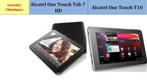 Alcatel One Touch Tab 7 HD vs Alcatel ...
