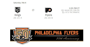 flyers hf boards gdt kings flyers 1pm csn hfboards nhl message board and
