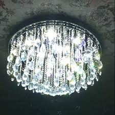 close to ceiling crystal chandelier mini flush mount light fixture candice chrome