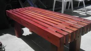 how to build a wooden bench design