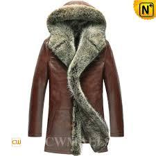 fur coat with hood cw855303 cwmalls com