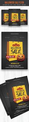 Halloween Sale Flyer Poster Layering And Autumn