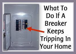 what to do if an electrical breaker keeps tripping in your home how to reset circuit breaker with test button at Fuse Box Breaker Wont Reset