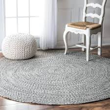 round braided rug rowan handmade grey braided area rug 6 round with regard to plans 0 round braided rug
