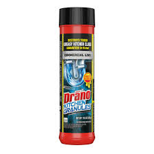 Drano Commercial Line 176 Oz Kitchen Granules Clog Remover 699031