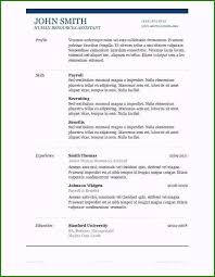 Microsoft Word 2007 Resume Resume Template Word 2007 New Release 13 Microsoft Word 2007