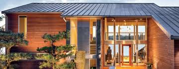 northwest modern home architecture. Lakeside Residence Channels Contemporary Northwest Style Modern Home Architecture E