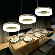 modern hanging lighting. Marvelous 3 Light Pendant Lighting Modern Hanging Fixture Kitchen Island Lamp Rings Dining Room Alexis