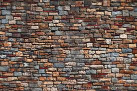 old brick wall texture in a background stock image