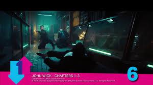 Official Film Chart John Wick Knocks Endgame Off Top Spot