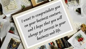 Congratulation For New Business Good Luck Messages For Starting A New Business Quotes For Startups