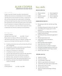 Construction Administrative Assistant Resume Office Samples Ooxxoo Co