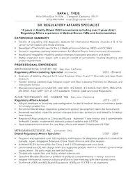 Foreign Affairs Specialist Sample Resume Podarki Co