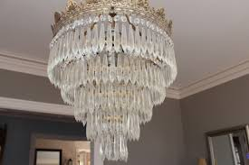 the problem was that i wasn t sure exactly how to clean the chandelier it s original with the house and i d definitely put it in the of delicate