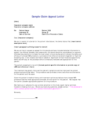 9 Appeal Letter Example Collection Of Solutions How To Write A