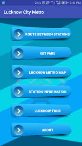 Guide For Lucknow Metro Routes Map And Fare 1 0 Apk Download