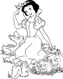 Small Picture Snow White Color Pages to Print Activity Shelter Coloring