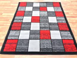 black grey and red area rugs red gray patchwork area rug black white gray accents large living room rug black white and red area rugs