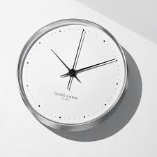 wall clock by henning koppel for georg jensen