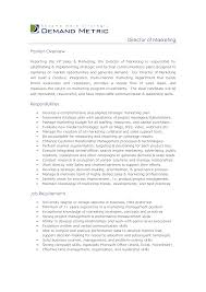 job description director s support resume samples job description director s support director s operations job description job descriptions for marketing manager template