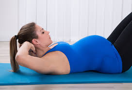 sit ups crunches during pregnancy