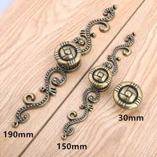 antique brass door handles. Vintage Bronze Dresser Kitchen Cabinet Wardrobe Door Handle Antique Brass Drawer Shoe Knob Pulls Retro Backplate Handles-in From Home Handles R