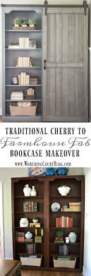 Industrial Bookcase Diy Best 25 Farmhouse Bookcases Ideas On Pinterest Colours Live Tv