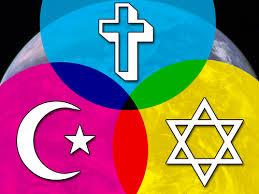 Islam Christianity Judaism Venn Diagram Interfaith As A Pagan An Introduction David Dashifen Kees