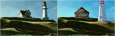 i decided to chose edward hopper as one of my contemporary artist so i decided to find similar images that are in his painting the lighthouse to more