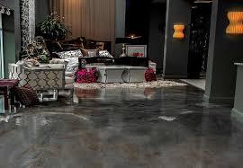 3d metallic flooring system