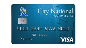 commercial credit card city national bank