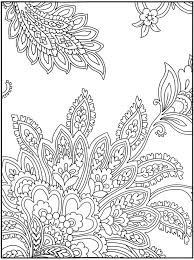 Small Picture Easy Paisley Coloring Pages GetColoringPagescom