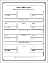 these graphic organizers include note taking charts  vocabulary essay writing these graphic organizers include note taking charts