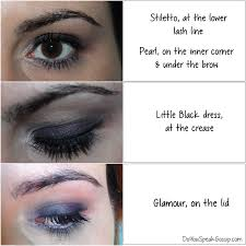 artistry little black dress eye shadow palette review makeup