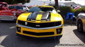 Transformers Edition Camaro SS Bumblebee Engine Starts Up, Rev and ...