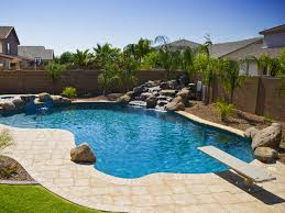 Backyard Pool Landscaping Simple Pool Landscaping Home Design Ideas