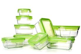 has the glasslock snapware tempered glass food storage containers with lids