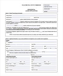 Sample Rental Application Form Simple Application For Rental House Savebtsaco Rental House Application