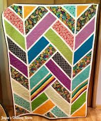 Jayne's Quilting Room: Projects from Claudia & That is evident in this herringbone quilt that she made in a class she took  at Quilt Beginnings in Columbus. I showed an in-progress picture of it here. Adamdwight.com