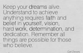 Quotes About Believing In Your Dreams Best of Keep Your Dreams Alive Understand To Achieve Anything Requires