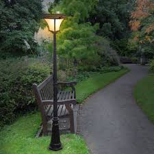 home interior suddenly solar powered outdoor lamp post royal series 3 pole mount gs 98f