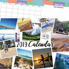 Travel Calendar 2019 Travelling With Kids Calendar Gift Idea Stocking Filler