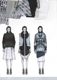 best sketches portafolios images fashion   clippedonissuu from westminsterfashion amy dee portfolio