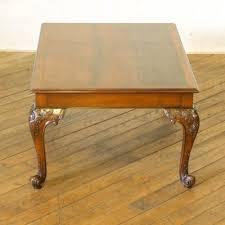 mahogany coffee table for at pamono