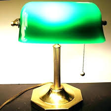 bankers desk lamp ireland shade replacement lamps green antique