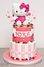 Hello Kitty 2nd Birthday Cake Bearkery Bakery