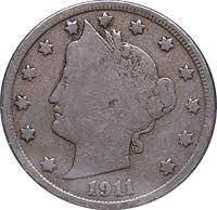 V Nickel Value Chart 1911 Liberty Head V Nickel Value Cointrackers