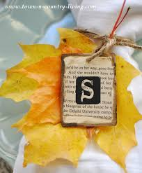 Fall Place Cards Pretty Fall Leaf Place Cards Jennifer Rizzo