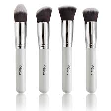 sixplus professional makeup brushes set new white handle brand cosmetic brush tool whole in makeup brushes tools from beauty health on