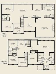 ... Four Bedroom Two Story House Plans 2 Marvellous Design 4 Bedrooms